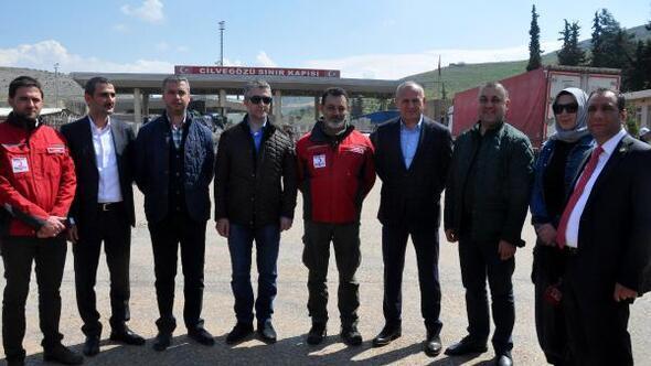 Düzce Belediyesi Suriyede çadır kent kurdu
