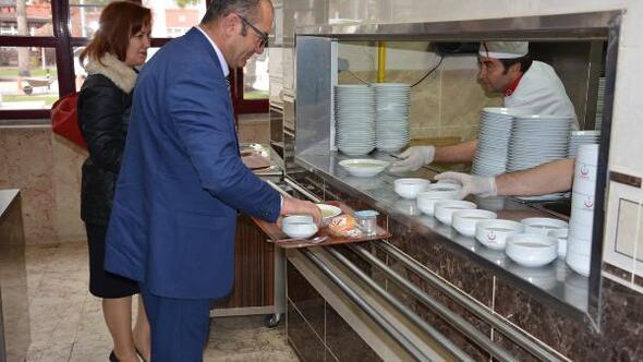 Konya İl Sağlık Müdürlüğünde 18 Mart Çanakke menüsü