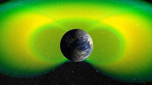 Dünyayı çevreleyen iç radyasyon kuşağı düşünülenden daha zayıf