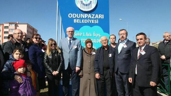 Şehit Astsubay Turgay Topsakaloğlu Spor Parkı açıldı