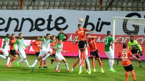 Adanaspor-Akhisar Belediyespor: 2-1