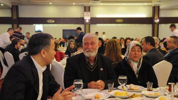 Gaziantep protokolü, şehit aileleri ile buluştu