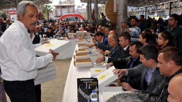 Osmaniyede Tirşik Festivali düzenlendi