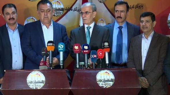 Kerk�k Valisi Kerim: K�rdistan bayrağı İstanbul ve Ankarada g�ndere �ekiliyorsa, Kerk�kte neden �ekilmesin