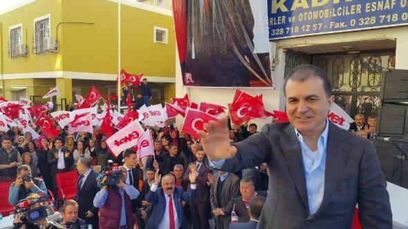 AB Bakanı Ömer Çelik : Biz 200 senedir bunu tartışıyoruz