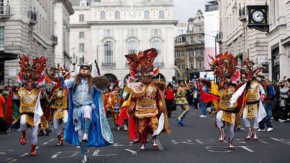 Londrada Aziz Patrick Günü yürüyüşü