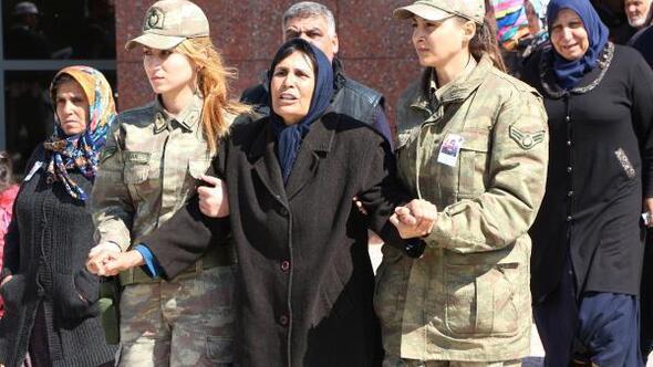 Şehit Yüzbaşının cenazesi Gaziantepte