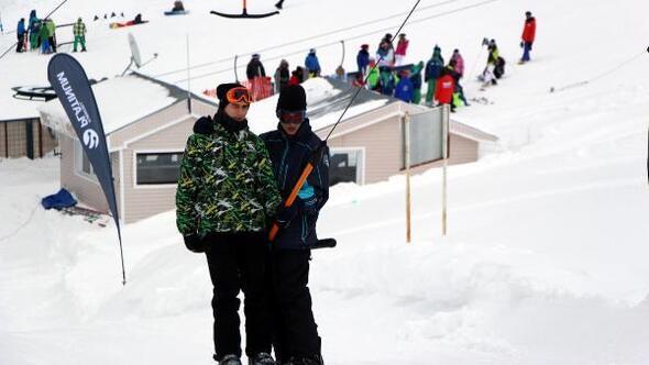 Kartalkayada kayak sezonu erken kapandı