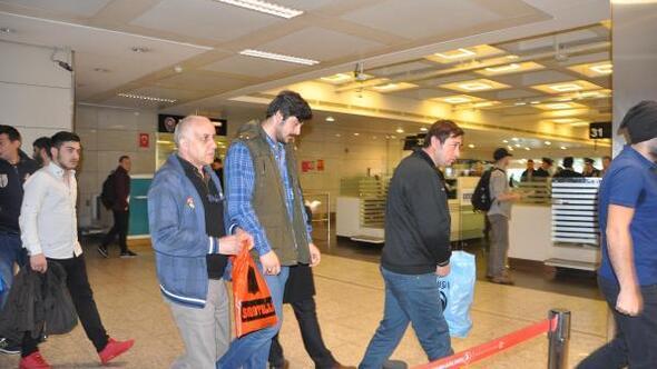 Libyada batan gemiden kurtarılan 7 kişi İstanbula geldi