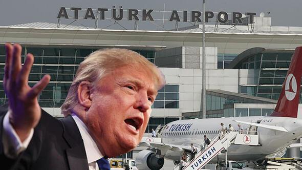 Türkiye'den ABD'ye gideceklere şok yasak