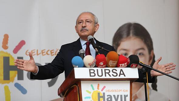 Kılıçdaroğlu güldürdü: Başkan bin 500 tane yardımcı seçebilir !