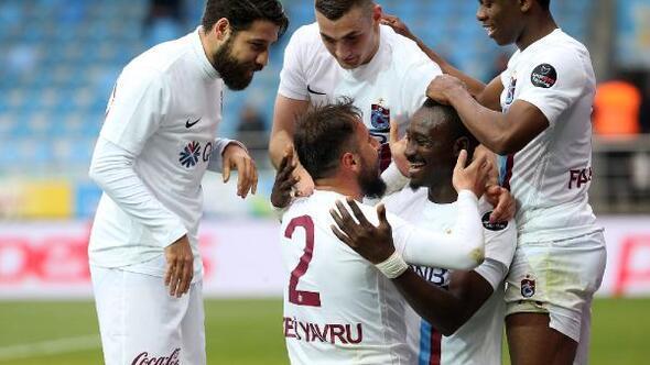 Trabzonspordan tarihinin 2'nci yarı performansı