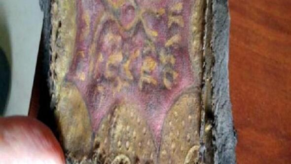 Adanada ceylan derisine altın yazmalı Tevrat ve el yazması ferman ele geçirildi 43