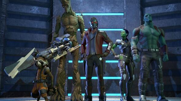 Guardians of the Galaxy raflarda