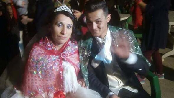 Canlı yayında karısının düğün fotoğraflarını gördü