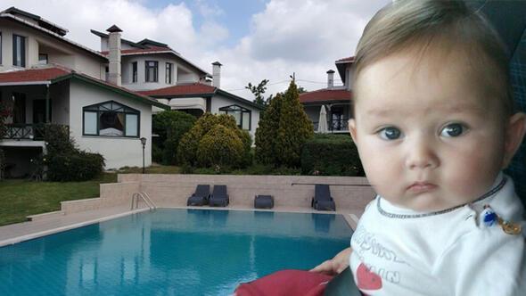İstanbulda lüks sitenin havuzunda çocuk öldü