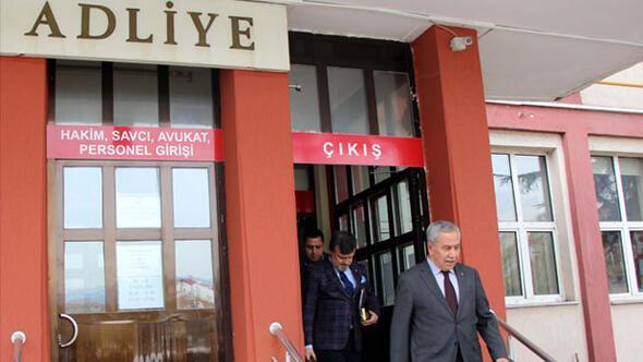 Bülent Arınç'a, 'hakaret' suçundan adli para cezası