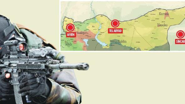 Son dakika: Ankaranın hedefinde üç nokta... 7 bin asker emir bekliyor