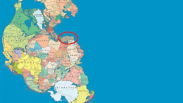 Dünya 300 milyon yıl önce böyleydi... Türkiye bir okyanus ülkesiymiş