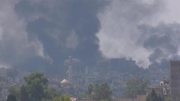Musul alev alev yanıyor!