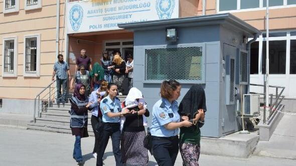 Niğde'deki fuhuş operasyonunda 11 kişi tutuklandı