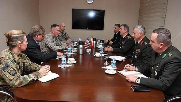 Dunford açıkladı: ABDden Türkiyeye PKK mektubu