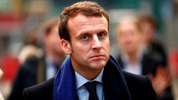 Macron: Esad'ın meşru alternatifi yok