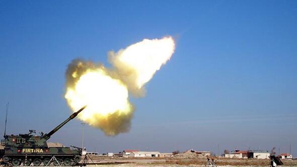 Türkiye Afrin'de terör örgütü YPG'yi bombaladı
