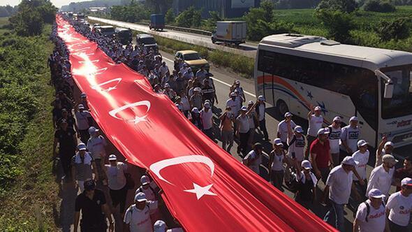 Adalet Yürüyüşü 17. gününde...