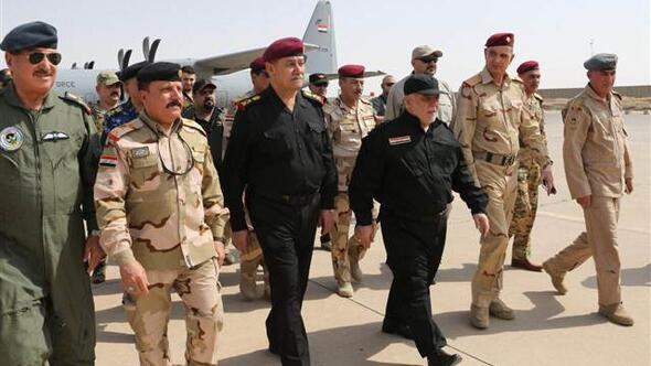 Irak başbakanı Musul merkezinde!