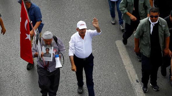 Kılıçdaroğlu ile İstanbula yürüyen Veysel Kılıçtan gözaltı açıklaması