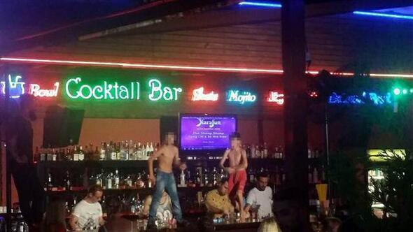 Çocukların yarı çıplak dansıyla tepki çeken bar kapatıldı