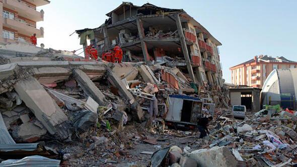 Marmara'da, deprem ile ilgili görsel sonucu