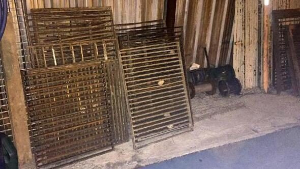 Zonguldak'ta mazgal ve rögar kapağı hırsızları yakalandı