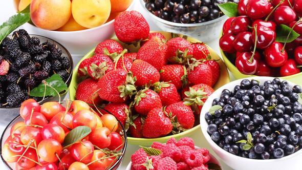 Sebzelerin ve meyvelerin kalorili içeriği 63