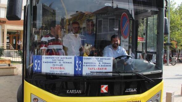 Sındırgı Haberleri Sındırgıda Kırsal Mahallelere Otobüs Seferleri