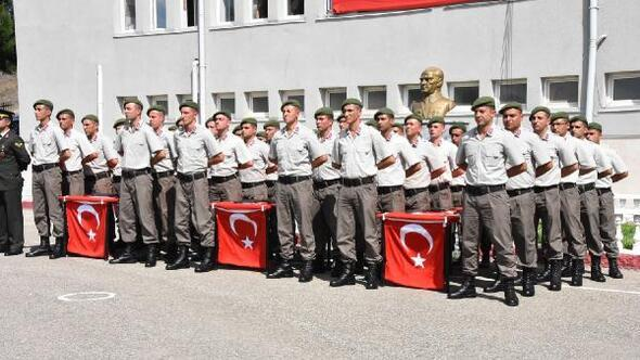 Yozgat Haberleri: Yozgat'ta kısa dönem erler yemin etti 79