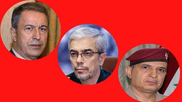 Üç ülke komutanlarından kritik temaslar