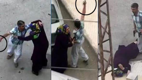 Kocası kaçtı, saldırganla baş başa kaldı