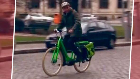 Cem Özdemir'in bisikleti çalındı