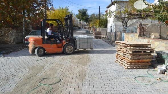 Ayvacık Belediyesi üst yapı çalışmalarına hız verdi