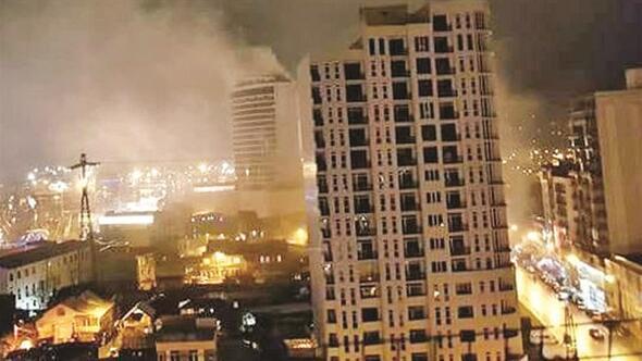 Batumda otel yangını: 12 ölü