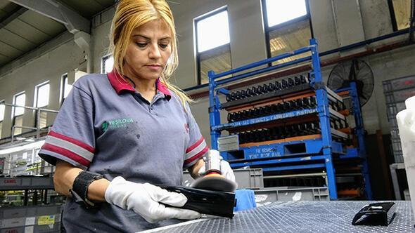 Ağır sanayinin kadın işçileri