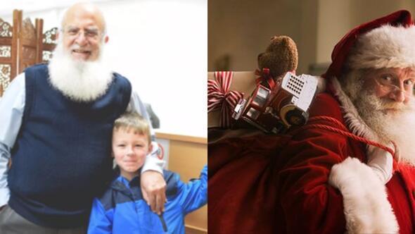 Müslüman adam kendisini Noel baba sanan çocuğa 4 yıldır hediye götürüyor