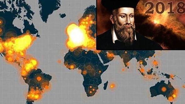 Nostradamus 2018 için bu kehanetlerde bulunmuş