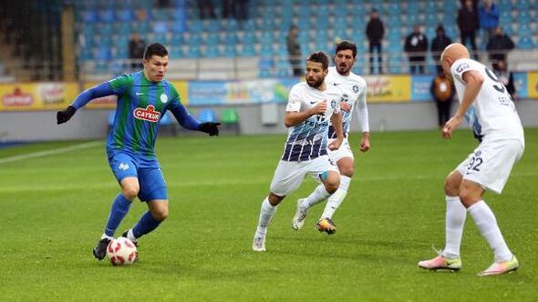Çaykur Rizespor - Adana Demirspor (FOTOĞRAFLAR)