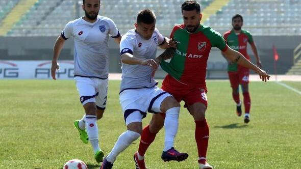 23. hafta mücadelesinde düşme hattında yer alan Karşıyaka evinde Play-Off potasındaki Hacettepespor'a son dakika golüyle 2-1 yenilerek üst üste 3. mağlubiyetini aldı