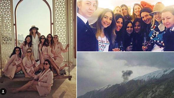 Son dakika: Türk özel jeti İran'da düştü... Uçakta bulunan 11 kişi öldü