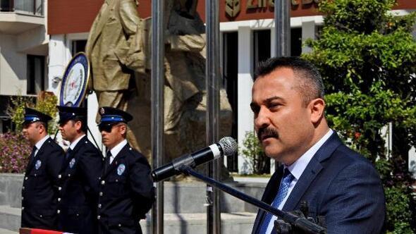 Çeşmede Türk Polis Teşkilatının kuruluşunun 173üncü yıl dönümü kutlandı