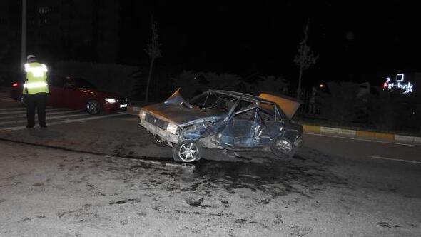 Çorum Haberleri: Çorumda 5 araçlı zincirleme kaza: 1 yaralı